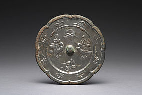 An Exquisite Bronze Mirror of Tang Dynasty