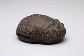 A Rare Pottery Ink-Stone of Tang Dynasty.