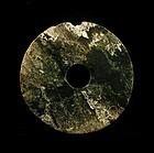 An Archaic Jade Bi of Western Zhou Period (BCE 1121--)