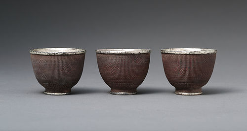 Qing Silver Wine Cups