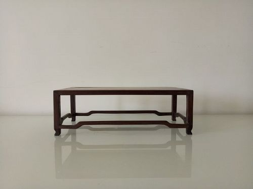 An Elegant Wood Scholar Stand of Qing Dynasty
