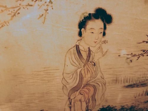 A Beautiful Chinese Painting of Qing Dynasty