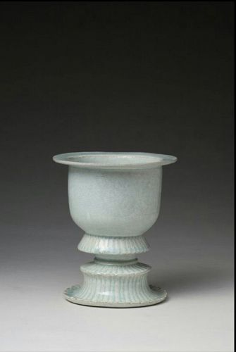 A Museum-Class High-Footed Qingbai Censer of N. Song D.