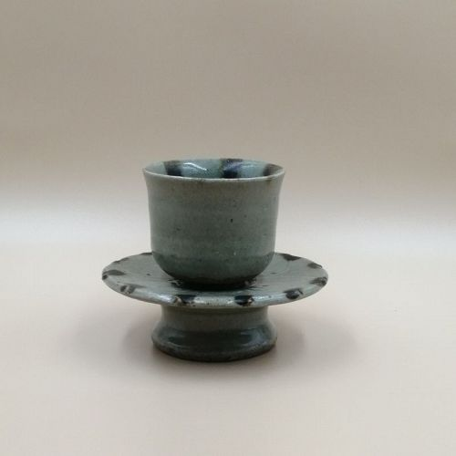 A Beautiful Set of Asian Tea Cup & Stand.