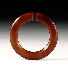 A Beautiful Agate Pendant of Warring States(BC403-221)