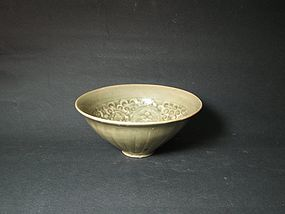 An Exquisite Yaozhou Bowl of Song Dynasty