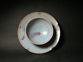 One Exquisite Jun Stand of Song Dynasty