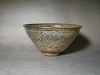 An Attractive Whitish Temmoko Bowl of Song Dynasty