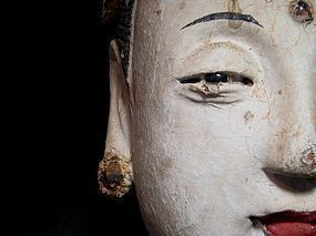 A Stucco Head of Bodhisattva of Song Dynasty(12th C.)