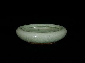 An Elegant Scholar Water Basin Of Qing Dynasty