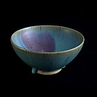 One Wonderful Jun Bowl of Jin/Yuan Period(12th Century)