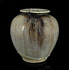An Excavation Jar with Beautiful Suffusion, Tang Dy.