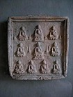 A Pottery Buddhist Tablet of Tang Dynasty(618-907)