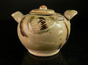 A Charming Changsha Ewer Pot of Tang Dynasty, 619-906