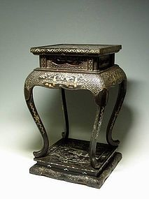 A Splendid Lacquered Stand 