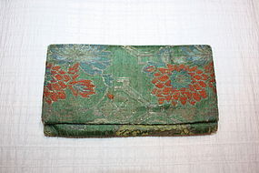 Meiji era from Edo Silk Nishijin textile Small case