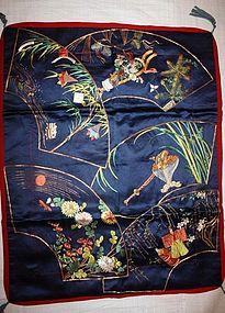 Edo Go-sekku fukusa Wonderful embroidery