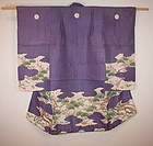 Edo bakumathu wonderful yuzen child furisode kimono