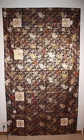 Japanese kinran-Kesa  of nishijin textile