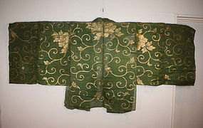Japanese antique edo Noh-Costumes textile very rare !!