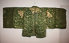 Japanese antique edo Noh-Costumes textile very rare !!