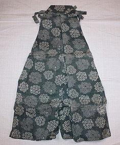 Japanese Edo period kyogen Costumes textile