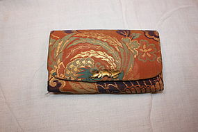 Edo nishijin-Weave kinran silk Wonderful bag