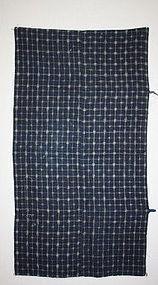 kasuri futon textileof beautiful indigo dyeing of edo