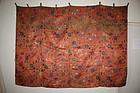 Edo chosen-nishiki uchishiki silk textile1861-1863