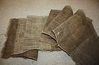Old antique textile hemp shina-fu -kaji very rare