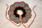 Edo Apron textile of the baby shibori & nishiki-ori