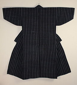Meiji Indigo Katazome Noragi  henp&cotton thick