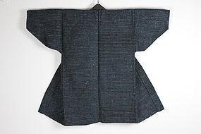 Taishou Iwate henp cotton Indigo silk Noragi rare