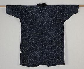Meiji Indigo Katazome-dyde Henp Iwate Boro Noragi