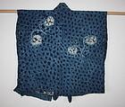 Edo Indigo dye Asamai Sibori Hand-spun  Cotton