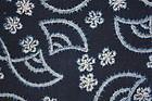 Meiji Indigo Cotton Katazome NarumiKongata  Ryoumenzome