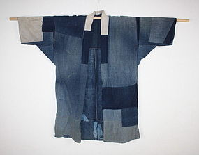 Noragi  Indigo  Boro cotton patchwork