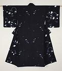 Meiji indigo Akita Asamai- Shibori Hand-spun cotton