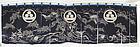 Japanese antique Tsutsugaki big Noren of the Shonai Edo period