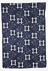 Meiji Kasuri Indigo Cotton A morning glory Hand-spun