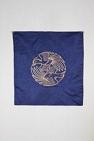 Edo Embroidery Fukusa Gorgeous Beautiful Silk