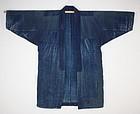 antique boro cotton Patched sashiko stitch noragi coat
