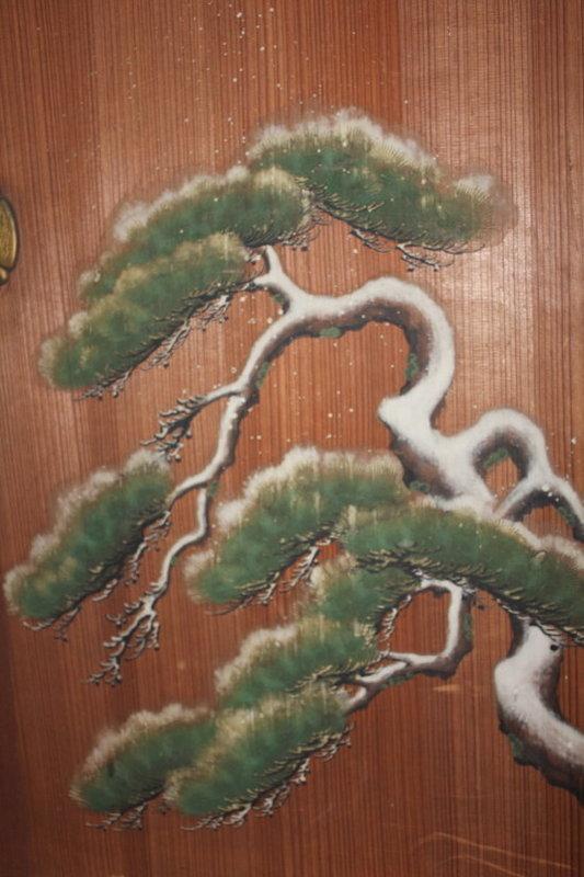 Edo Imperial Palace use Kano group Sugido-e Very rare