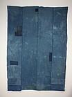 antique boro Indigo dye cotton Patched sashiko Stitch futon cover