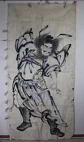 Edo Nobori-Paper Shoki Big size Freehand drawing