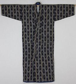 Edo Kasuri Silk Child kimono