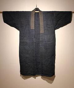 Meiji Indigo Koyori-Paper  Cotton Noragi