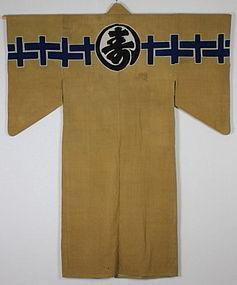 Edo Cotton Thick Hand-spun Tsutsugaki Rikushaku-kanban