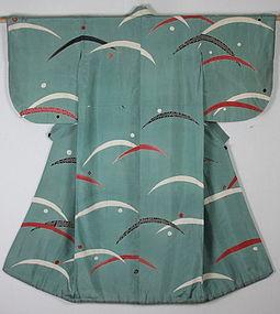 Taisho Silk Kabuki- clothes Sasani-tuyu.