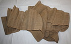 Edo Hemp Cloth Hand-spun Thick.